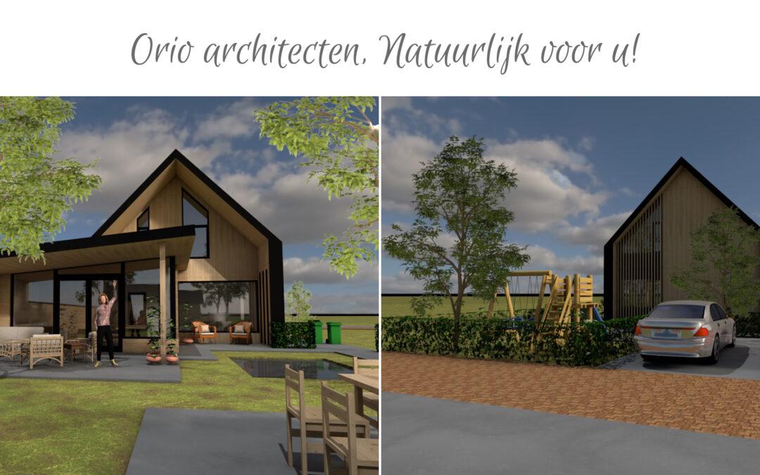 De 'Barn' typologie van ORIO architecten krijgt wederom vorm in deze ecologische woning